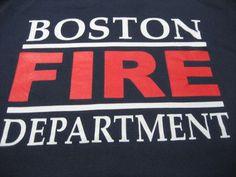 Got mine.   BOSTON FIRE DEPT LADDER 15 ENGINE 33 BOSTON BACK BAY TEE