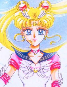 "Eternal Sailor Moon (Usagi Tsukino) from ""Sailor Moon"" series by manga artist Naoko Takeuchi."