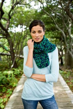 Sumptuous Tweed Scarf Pattern (Crochet)