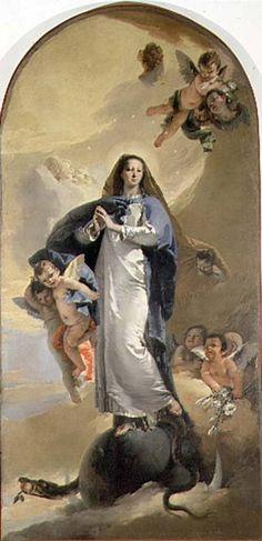 Giovanni Battista Tiepolo The Immaculate Conception