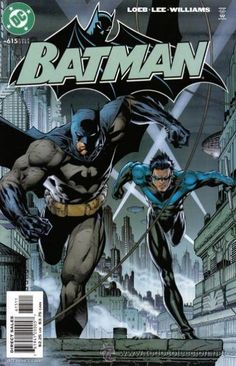 BATMAN  DC comics cover Dark Knight Batman