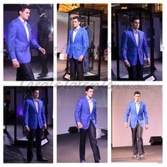 Don't you think our model RK10 looks every inch of a dapper in this royal blue suit? #mensfashion #menswear #createtalents #modelingagency