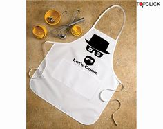 Breaking Bad Apron by topclick on Etsy, $23.99 Christmas List?