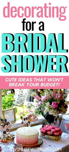 Bridal Shower Registry, Bridal Shower Planning, Outdoor Bridal Showers, Simple Bridal Shower, Bohemian Chic Weddings, Colored Mason Jars, Ribbon Bouquet, Sweetheart Table, Bridal Shower Decorations