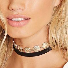 Velvet Bohemian Choker Necklace