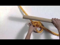 Tie the perfect knots for a rope tree swing