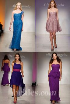 Brides: Alfred Angelo Bridesmaid Dresses 2013