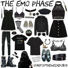 Teen diy: get the look: toni topaz grunge outfits, cute emo outfits, punk o Cute Emo Outfits, Punk Outfits, Teen Fashion Outfits, Gothic Outfits, Trendy Outfits, Trendy Fashion, Girl Outfits, Fashion Black, Emo Fashion