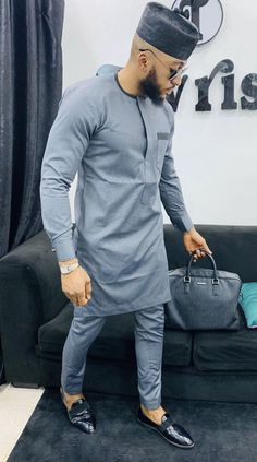 mens traditional wear,African Men's wear, mens senator wear, mens kaftan African Male Suits, African Shirts For Men, African Dresses Men, African Attire For Men, African Clothing For Men, Nigerian Men Fashion, Indian Men Fashion, African Fashion, Fashion For Man