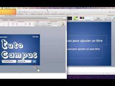 Faire un bon PowerPoint - Avancé Thème Réseau Social - YouTube