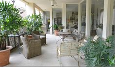 Found on Cote De Texas.blogspot.com New living space of Donna Temple Brown, owner of The Gray Door antique shop.