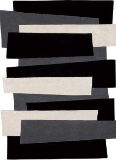 Soho Rugs | Shapes Irregular and Odd Rugs II | Angelo Pebbles 9714-500 Rug