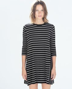 Image 2 of LONG-SLEEVED DRESS from Zara