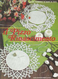 Il Pizzo Rinascimento book 1: Fiber Art Reflections