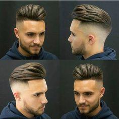 """13 curtidas, 1 comentários - Cortes Masculinos (@tendenciacortemasculino) no Instagram: """"Corte de cabelo estiloso. Stylist hair by @ogromoderno #cortedecabelo #cortemasculino #cortecabelo…"""""""