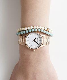 NIXON-WATCH(ニクソンウォッチ)のTHE SMALL KENSINGTON(腕時計) ゴールド系その他