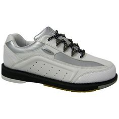 Elite Platinum Wht/Sil (RH) Bowling Shoes - Women *** Check this awesome product by going to the link at the image. Bowling Outfit, Bowling Shoes, Shoe Deals, Shoe Company, Your Shoes, Cute Shoes, Shoes Online, Running Shoes, Athletic Shoes