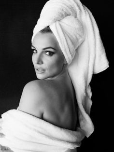Britney Spears Becomes Art in Mario Testino's Towel Series