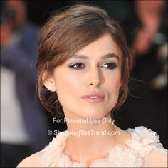 keira knightley updo | Keira Knightley looked amazing at the World Premiere of Anna Karenina ...