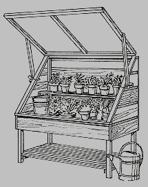 Cold Frame: seed starter.  Another idea to build