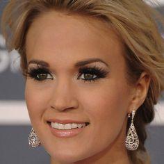 Carrie Underwood makeup looks!