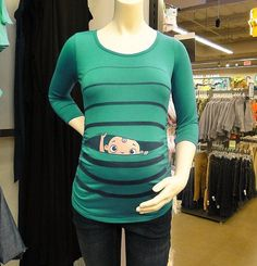 Made me think of Meagan! She needs this :) Maternity Clothes by CutsieTootsieApparel