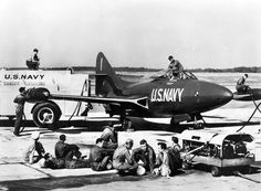 Grumman F-9F-5 Panther - Blue Angels, United States Navy (USN), United States, 1949.