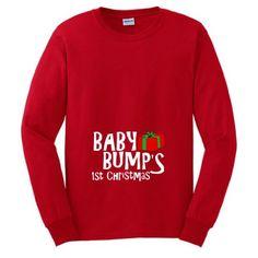 Tacky Christmas Sweater Bumps First Christmas Shirt