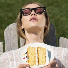 Baked with sunshine, Gigi Hadid's secret ingredient.