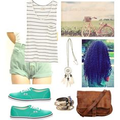 Summer :), created by mariilouw on Polyvore
