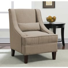 Office waiting room chairs Jenny Slope Dune Upholstery Arm Chair | Overstock.com Shopping - Great Deals on Chairs