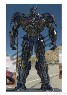Optimus Prime cgi