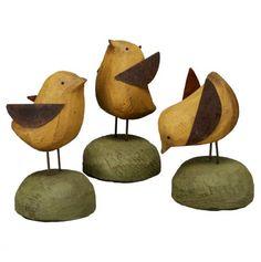 Wooden Chicks