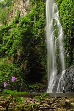 Tagbo Falls,Mount Afadjato,Ghana: - PixoHub
