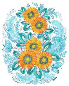 Украинская художница Ганна Самарська: «Люди, будьте как цветы!» - Ярмарка Мастеров - ручная работа, handmade