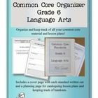 The amount of material needed to teach the common core standards can be overwhelming at times, but you can keep it all in one place and organized w...
