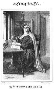 Santa Teresa, virgen fundadora, Doctora by Tus Preguntas sobre los Santos, via Flickr