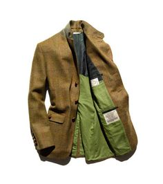 Glen Hunt Tweed Sport Coat.  Need to find a tweed coat like this, but at 1/3 the price