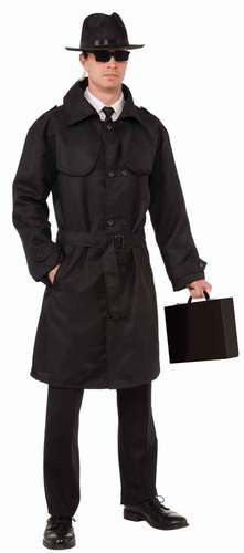 This costume includes one jacket. Does not include hat, sunglasses, earpiece, shirt, tie, briefcase, pants, or shoes.