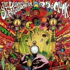 25 O'Clock / Dukes of Stratospher [i.e. XTC]  EP - 1985
