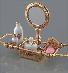 Reutter - Bath Tray - 1.673/8   Dolls House   Dolls Houses   Childrens Dolls House   Dollshouse Miniature   Dollhouse Lights, Accessories & Furniture   Sussex.