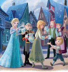 Constable+Frozen — Anna & Elsa