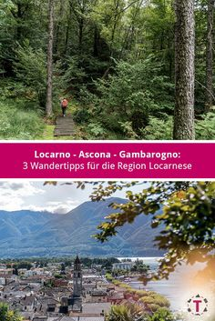Locarno - Ascona - Gambarogno: 3 Wandertipp in der Region Locarnese Big Love, Switzerland, Around The Worlds, Mountains, Places, Travel, Europe, Locarno, Day Trips