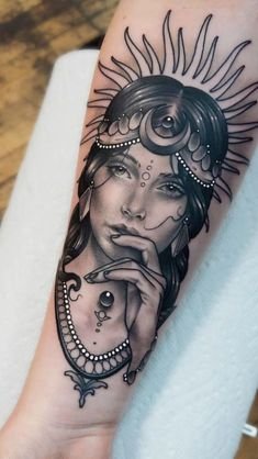 Discover recipes, home ideas, style inspiration and other ideas to try. Dope Tattoos, Native Tattoos, Head Tattoos, Sleeve Tattoos, Chicanas Tattoo, Forarm Tattoos, Chest Tattoo, Tattoo Girls, Girl Tattoos