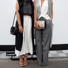 Look Your Best With This Fashion Advice Fashion Week, Look Fashion, Womens Fashion, Fashion Trends, Fashion Models, Winter Fashion, White Outfits, Fall Outfits, Office Outfits