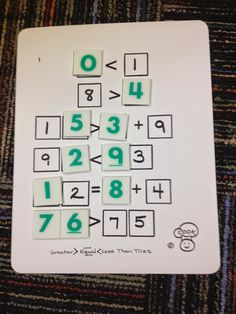 Marcy Cook Math centers