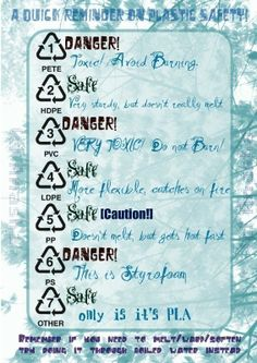 The Very Important Guide Of Plastic Safety
