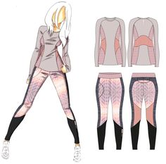 Sportswear outfit creation | Site DIY et couture