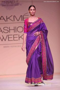 blouse Marg by Soumitra Show at Lakme Fashion Week Winter / Festive 2013