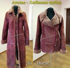 Znaleźliśmy nowe Piny na tablicę Moda - Poczta Pug Cartoon, Things To Buy, Stuff To Buy, Leather Dresses, Refashion, Winter Coat, Upcycle, Fur Coat, Sewing